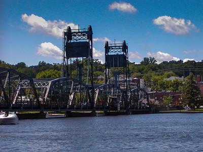 Lift bridge in Stillwater, MN