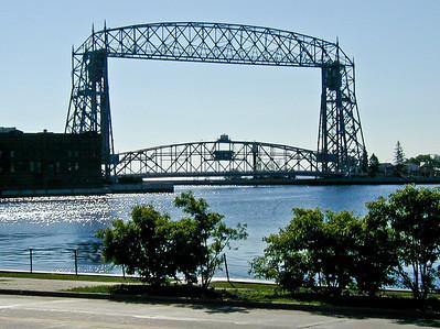 Vacation July 2001 - Duluth MN - Aerial Lift Bridge