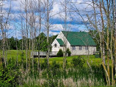 Church near Izatys golf course in MN