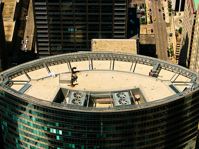 Skydeck View - Sears Tower in Chicago, IL May 2009