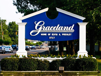 Graceland, home of Elvis Presley, Memphis TN