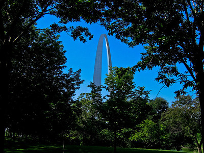 The Gateway Arch, St Louis MO