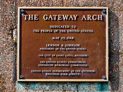 The Gateway Arch, St Louis MO