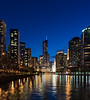 """Chicago at Twilight"""