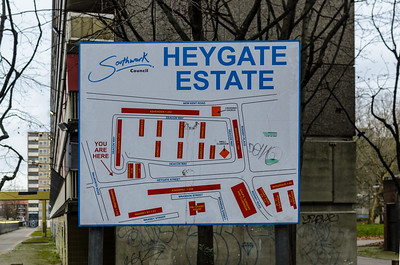 English Neo-brutalism - the Heygate Estate