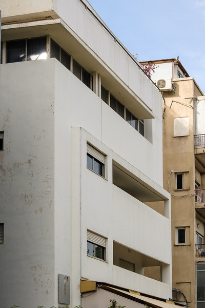 Krieger House (now the rothschild 71 hotel), 71 Rothschild Blvd. (Z. Rechter, 1934), Tel Aviv