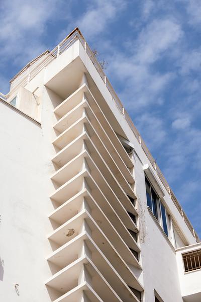 Israeli architecture: In the White City, Tel Aviv
