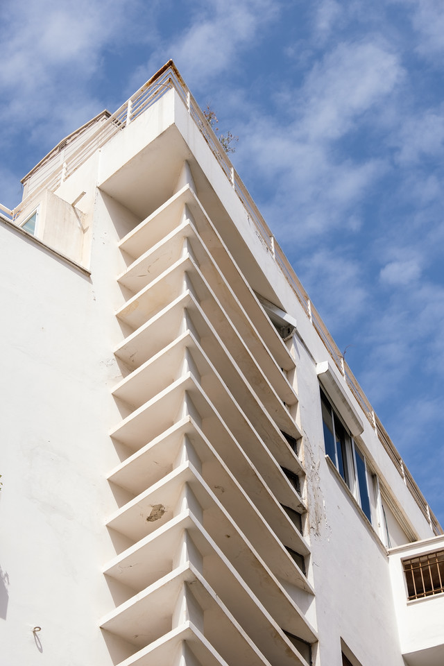 Thermometer House, 5 Frug St. (Y. Lulka, 1936), in the White City, Tel Aviv