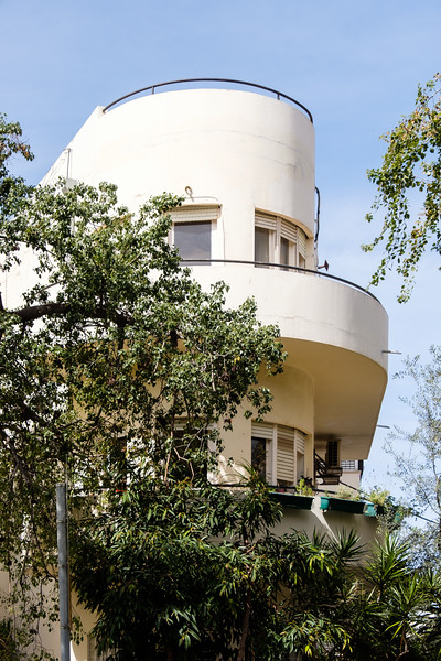 Israeli architecture:  In the White City, continued