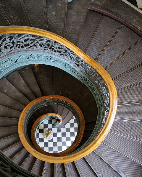 Peabody Conservatory Spiral Staircase