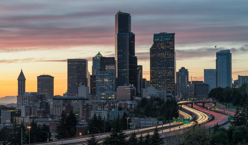 """""""Seattle Sunset"""""""