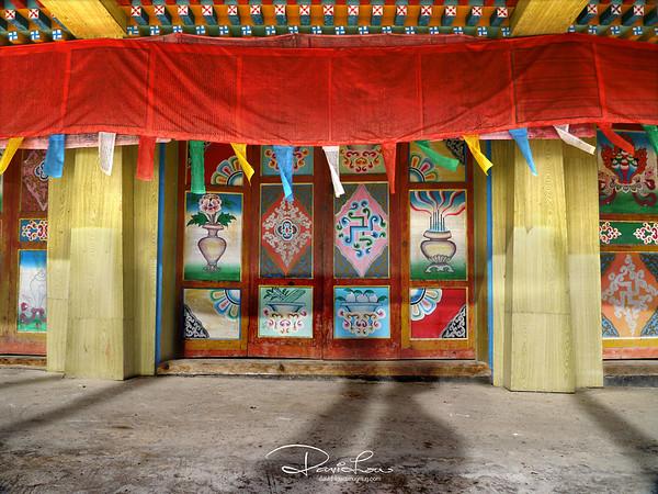 Tibetan door 1