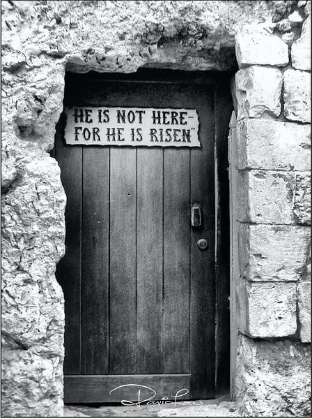 Door to Jesus Tomb