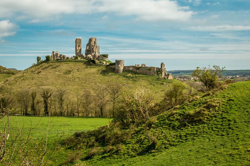 Corfe Castle Dorset