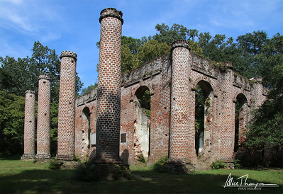 Old Sheldon Church - Beaufort, South Carolina