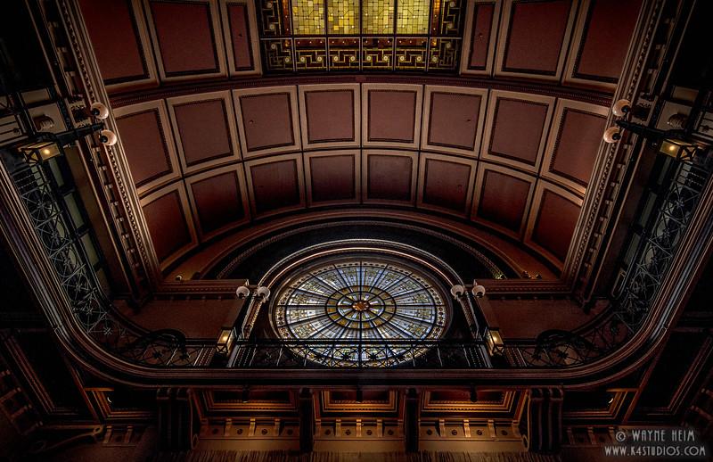 Train Station Window. Photography by Wayne Heim
