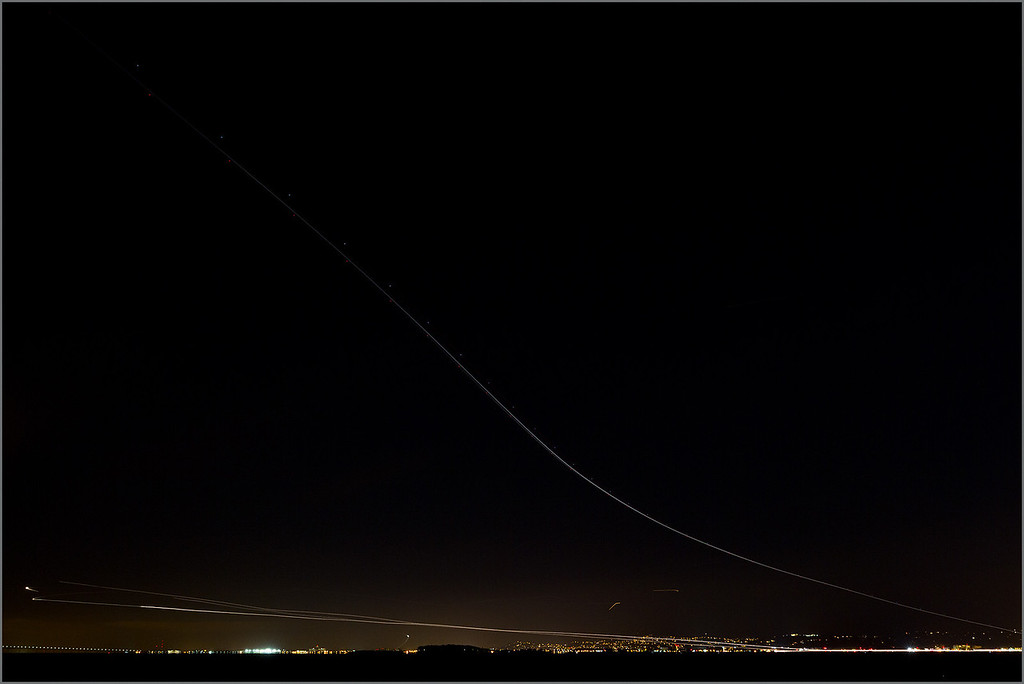 <center><i>Bay Area Arrivals and Departures, from Oyster Point</i></center>#9776-7D