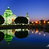 Victoria Memorial Hall at dusk @ Kolkata, India