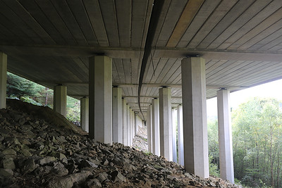 Beneath the A9