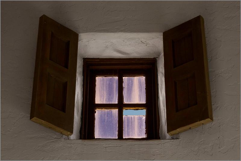 <center><i>Presentation Center Chapel Window (purple haze),   </i></center>#1074-7D