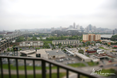 Downtown Cincinnati (Tilt-Shift)