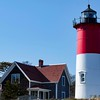 Nauset Beach Light, a restored lighthouse on Cape Cod National Seashore - Eastham, Massachussetts