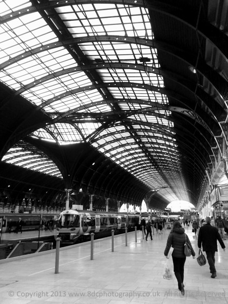 "Paddington Station London  <a href=""http://www.8dcphotography.co.uk"">http://www.8dcphotography.co.uk</a>"