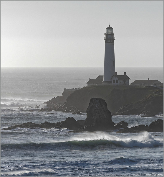 Pigeon Point Lighthouse, February 13, 2016 (#5460-7DII)