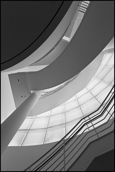 <center><i>Getty Stairs</i></center>#9799-7D