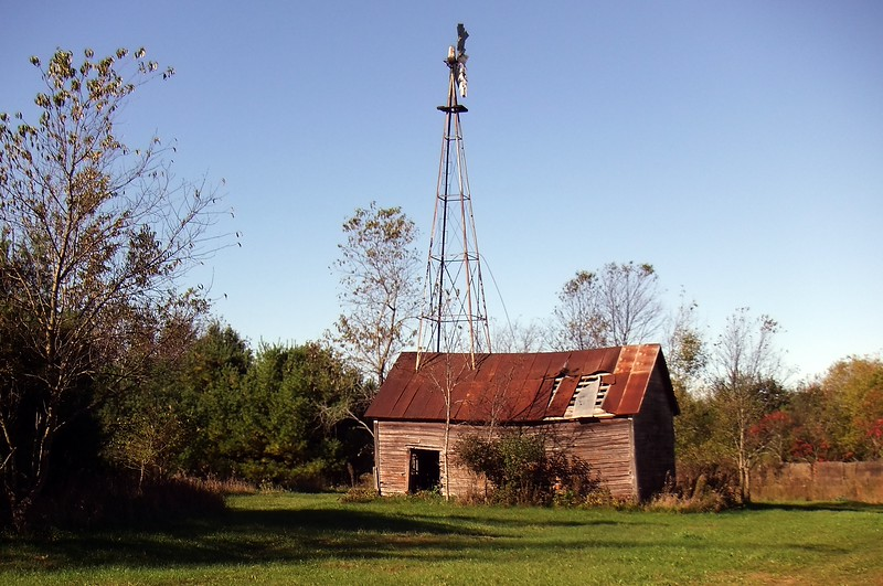 Dry well pump shed Dunn County Wisconsin