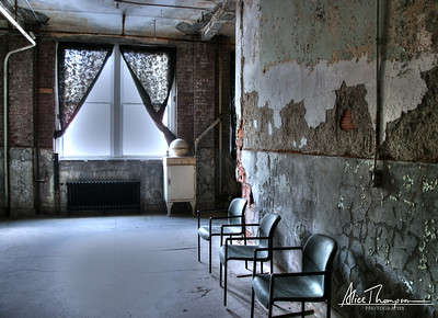 Waverly Sanatorium, Chairs and Window