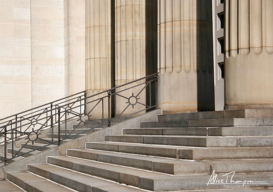 Steps and Columns - Cincinnati, Ohio