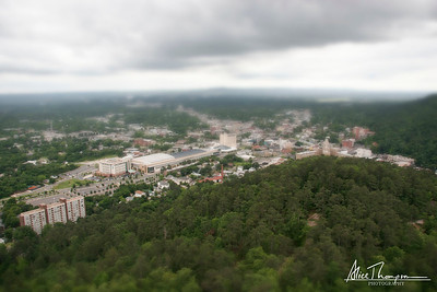 Hot Springs, Arkansas (Tilt-Shift)