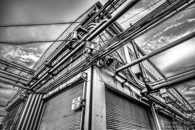 Corner of Forge - Black & White Photography by Wayne Heim