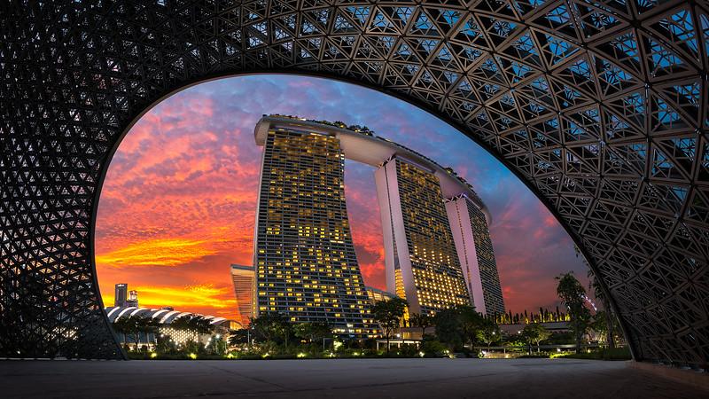 Eye On Marina Bay Sands | Singapore