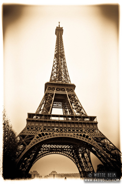 Eiffel Tower . Photography by Wayne Heim