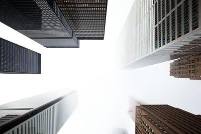 Toronto In Fog