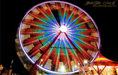 Ferris Wheel @ Gwinnett County Fair - Georgia,  USA