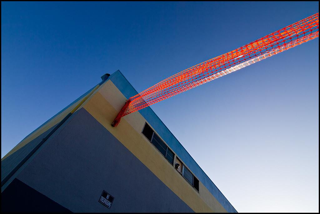<center><i>No Trespassing / Orange Network</i>, #0735-7D</center>