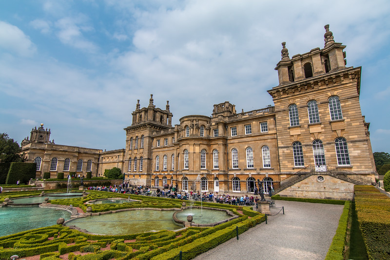 The Grand Blenheim Palace, Oxfordshire UK