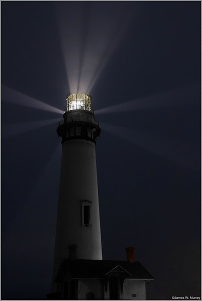 <center><i>Pigeon Point Lighthouse, September 14, 2014, 1:19 a.m. (ver 2)</i></center>#6003-7D