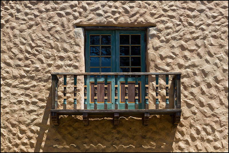 <center><i>Balcony, Mt. Carmel Church</i></center>#9405-7D