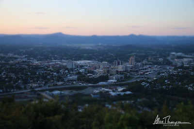 Roanoke, Virginia (Tilt-Shift)
