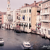 Historic Venice City from Realto Bridge @ Venezia - Italy - Dec 2014