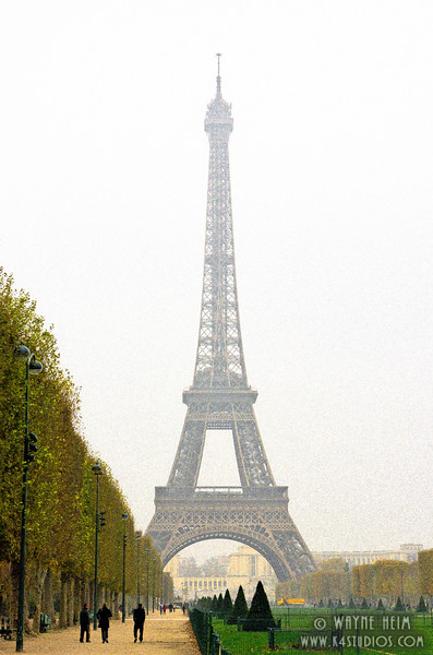 "Misty ""Eiffel - Photography by Wayne Heim"