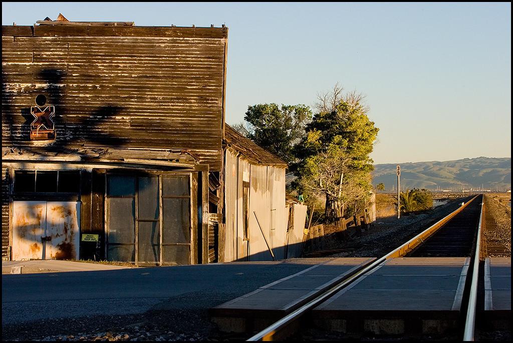 <center><i>Alviso RXR Crossing, Morning</i>, #4303</center>