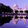 Victoria Memorial Hall during Sunset ... Kolkata - India .