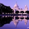 Victoria Memorial Hall during Sunset ... Kolkata - India .