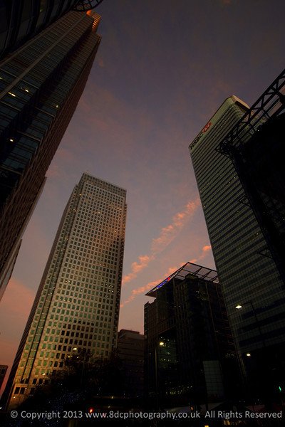 One Canada Square Sunrise
