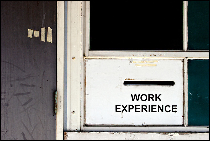 <center><i>Work Experience</i>, #0076</center>